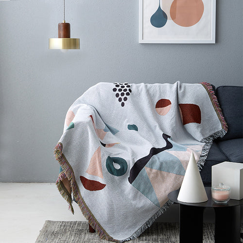 Abstract Print Throw - tasall