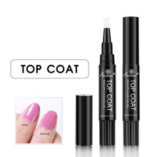 Top Coat an Base Coat Gel Nail Pen - tasall
