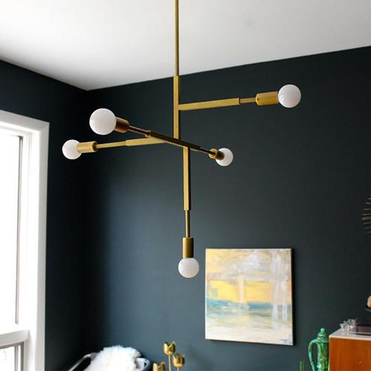 Nordic Modern Gold Pendant Light - tasall