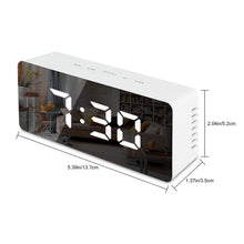 LED Mirror Alarm Clock - tasall