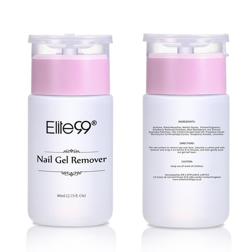 Elite99 80ml Nail Surface Cleanser and Nail Polish Remove - tasall