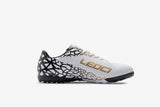 LEOCI Indoor Redback White/Gold/Black Soccer Shoes