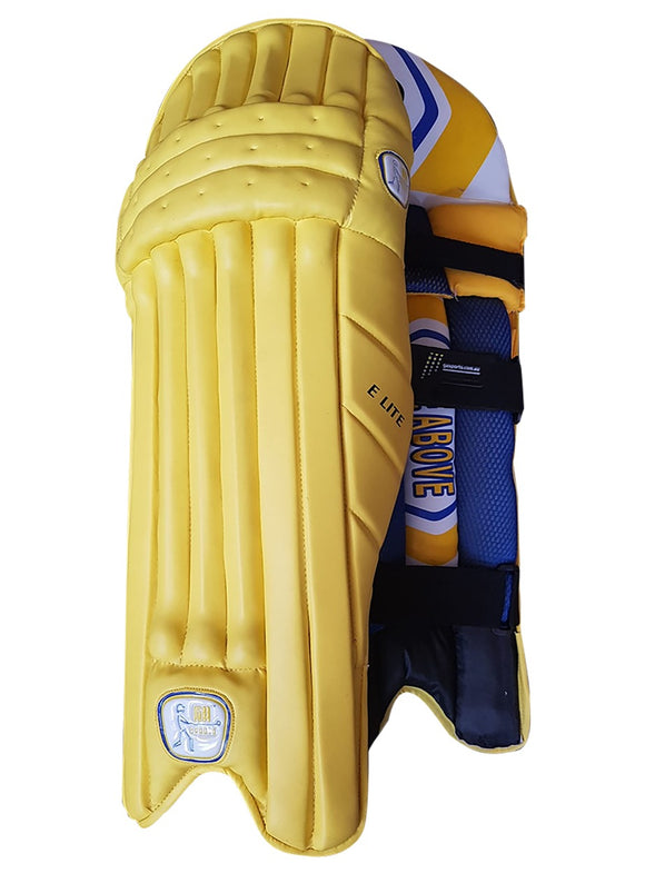 GA Elite Yellow Batting Pads