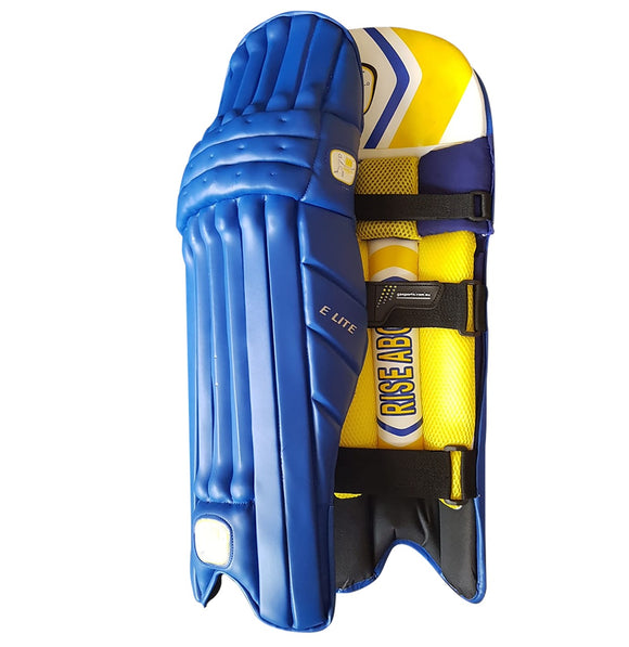 GA Elite Blue Batting Pads