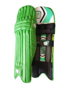 GA Elite Green Batting Pads