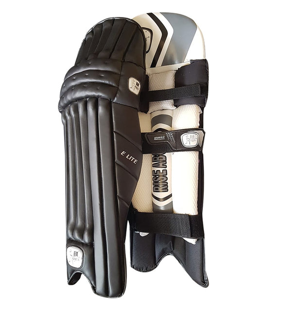 GA Elite Black Batting Pads