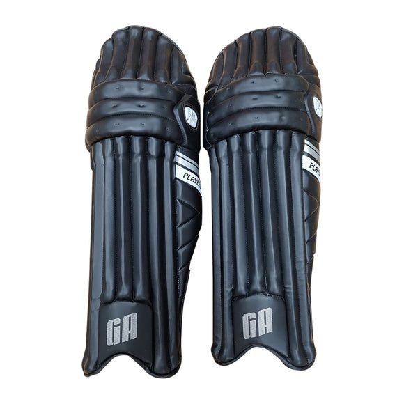 GA Players Black Batting Pads