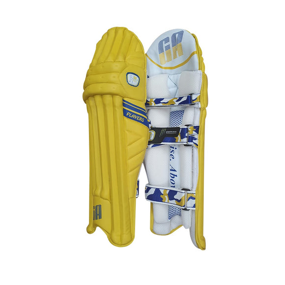 GA Players Yellow Batting Pads