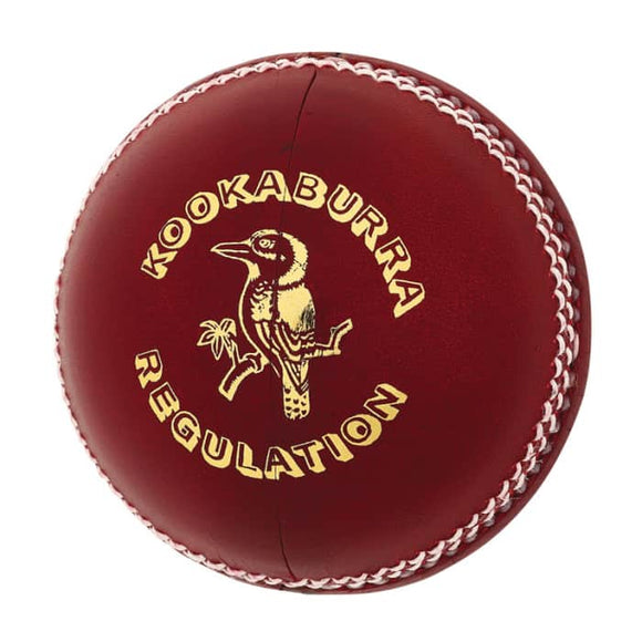 Kookaburra Regulation Reject 4 piece ball - Red 156gm