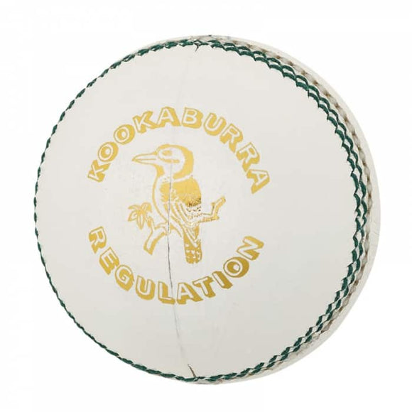 Kookaburra Regulation Reject 4 piece ball - White 156gm