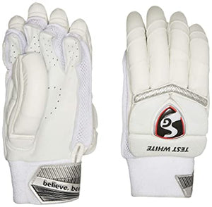 SG Test White Batting Gloves