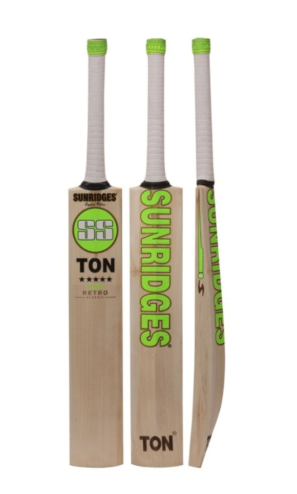 SS Retro Elite Classic English Willow Bat