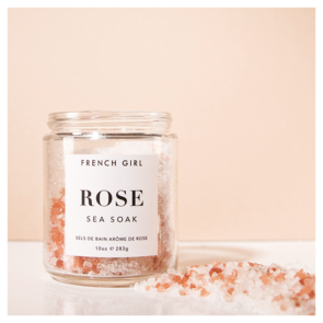 French Girl Organics Rose Sea Soak