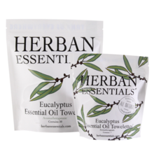 Load image into Gallery viewer, Herban Essentials Eucalyptus Towelettes