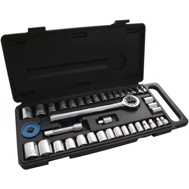 Socket Set with Case - 40 pieces - only5pounds.com