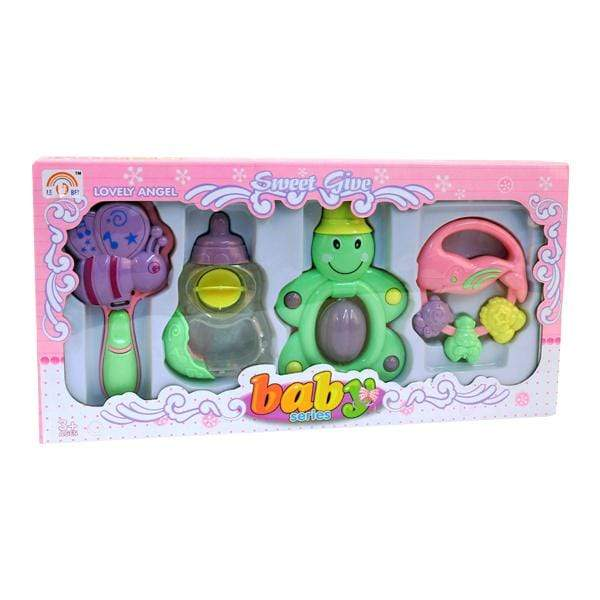 4pcs Baby Rattles Bug Set - only5pounds.com