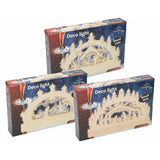 5 LED Christmas Scene With Wooden Bridge - Assorted Design 8718489000047