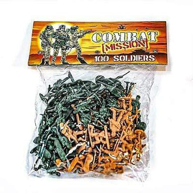 100 Piece Soldier Toys Pack - only5pounds.com