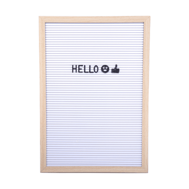 A3 Retro Style Letter Peg Board - Black or White - only5pounds.com