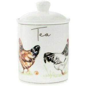 CHICKENS TEA CANISTER 5010792936031