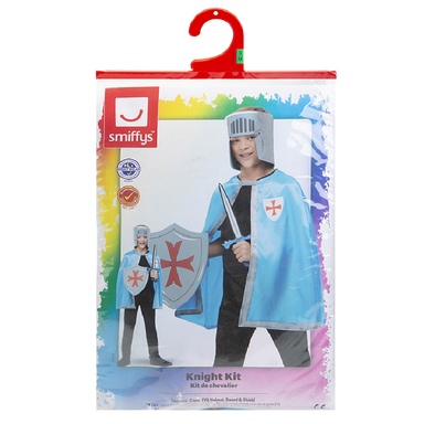 Childrens Knight Costume Kit - Small (Ages 4-7 Years) 5020570507551