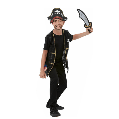 Childrens Pirate Costume Kit - Small 5020570515457