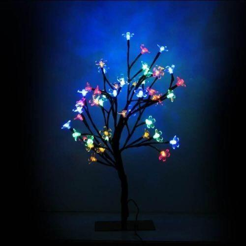 Christmas Multi Colour 24 LED Mini Bonsai Tree 5056150226642