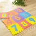 0-9 Numbers Interlocking Foam Mats - 10 Pieces - only5pounds.com