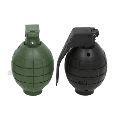 Plastic Toy Hand Grenade (With Lights & Sound) - 10cm - only5pounds.com