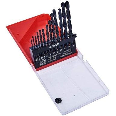 High Speed Drill Set - 13 Pieces - only5pounds.com