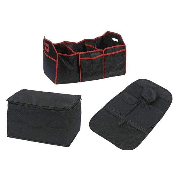 3 Pack Car Seat & Boot Organiser Set - only5pounds.com