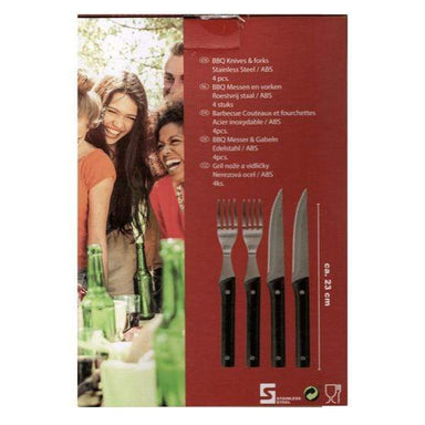 4pcs BBQ Knives & Forks - only5pounds.com