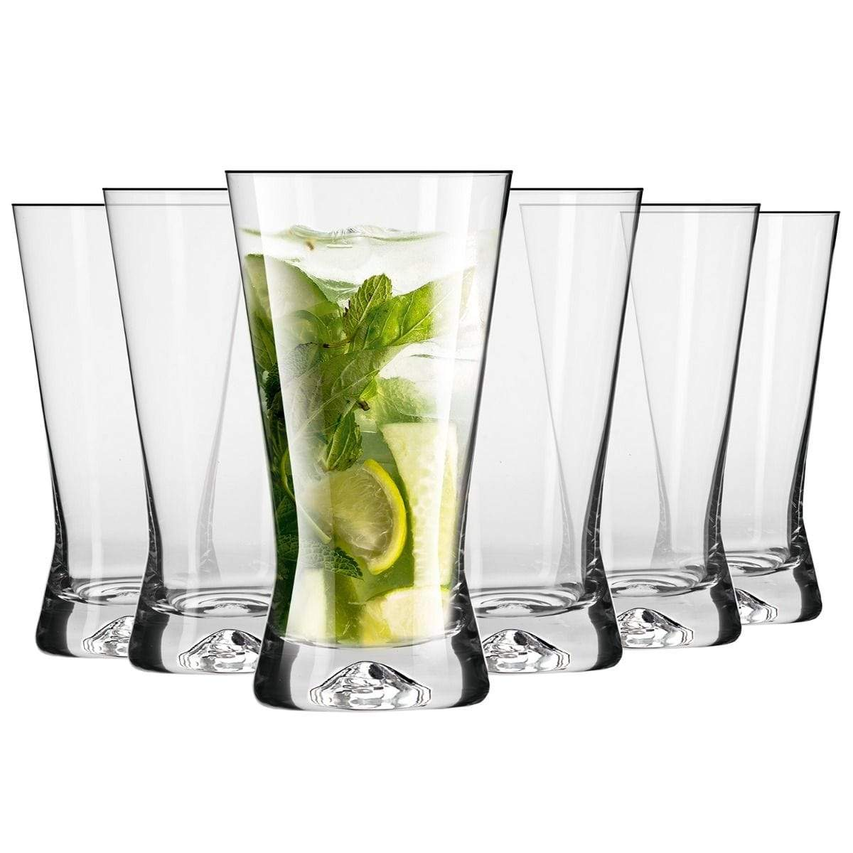 6 Juice Glasses - 300ml - only5pounds.com