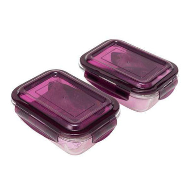 Airtight Glass Food Container - 2 Pieces - only5pounds.com
