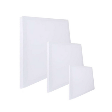 White Artist Canvas - 30, 40 & 50cm  - 3 Pack - only5pounds.com
