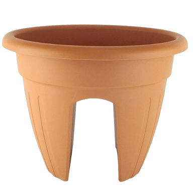 Balcony Pot Terracotta - 30cm - only5pounds.com