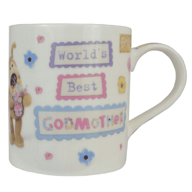 Boofle Worlds Best Godmother Mug - only5pounds.com