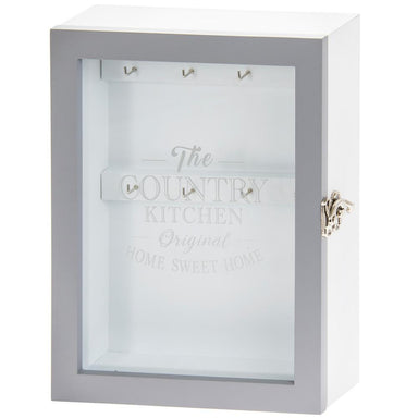 Country Kitchen Key Cabinet  - 20 x 26cm - only5pounds.com