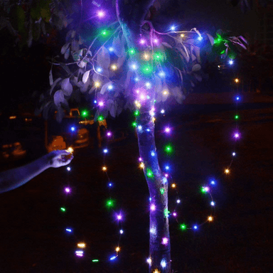 Decorative String Fairy Lights Battery Powered Multi Colour 40 LED - 2m - only5pounds.com