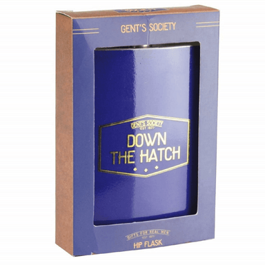 Gents Society Hip Flask - only5pounds.com