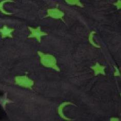 Glow In Dark Blanket - 127 x 152cm - Grey