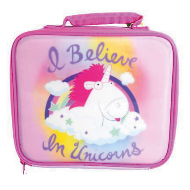 I Believe In Unicorns Minions Lunch Bag - only5pounds.com