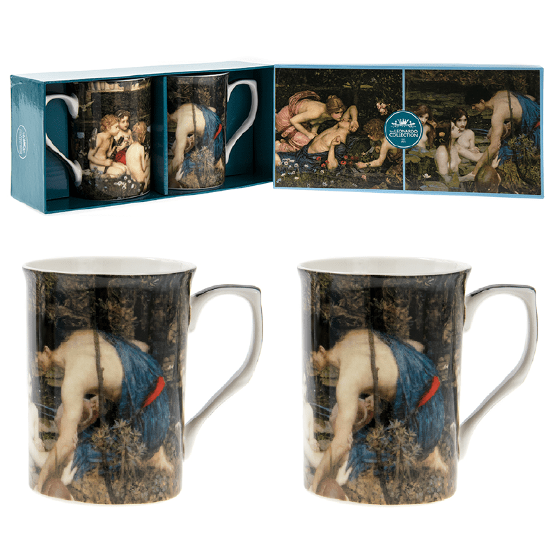 John Waterhouse Mugs Set of Two - only5pounds.com