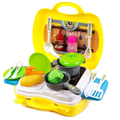 Kitchen Cooking Toy Play Set - 26 Pieces - only5pounds.com