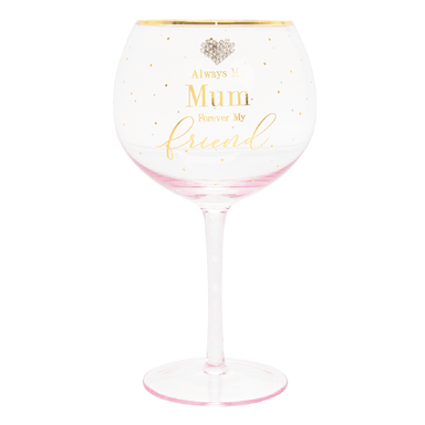 Mad Dots Mum Gin Glass - only5pounds.com