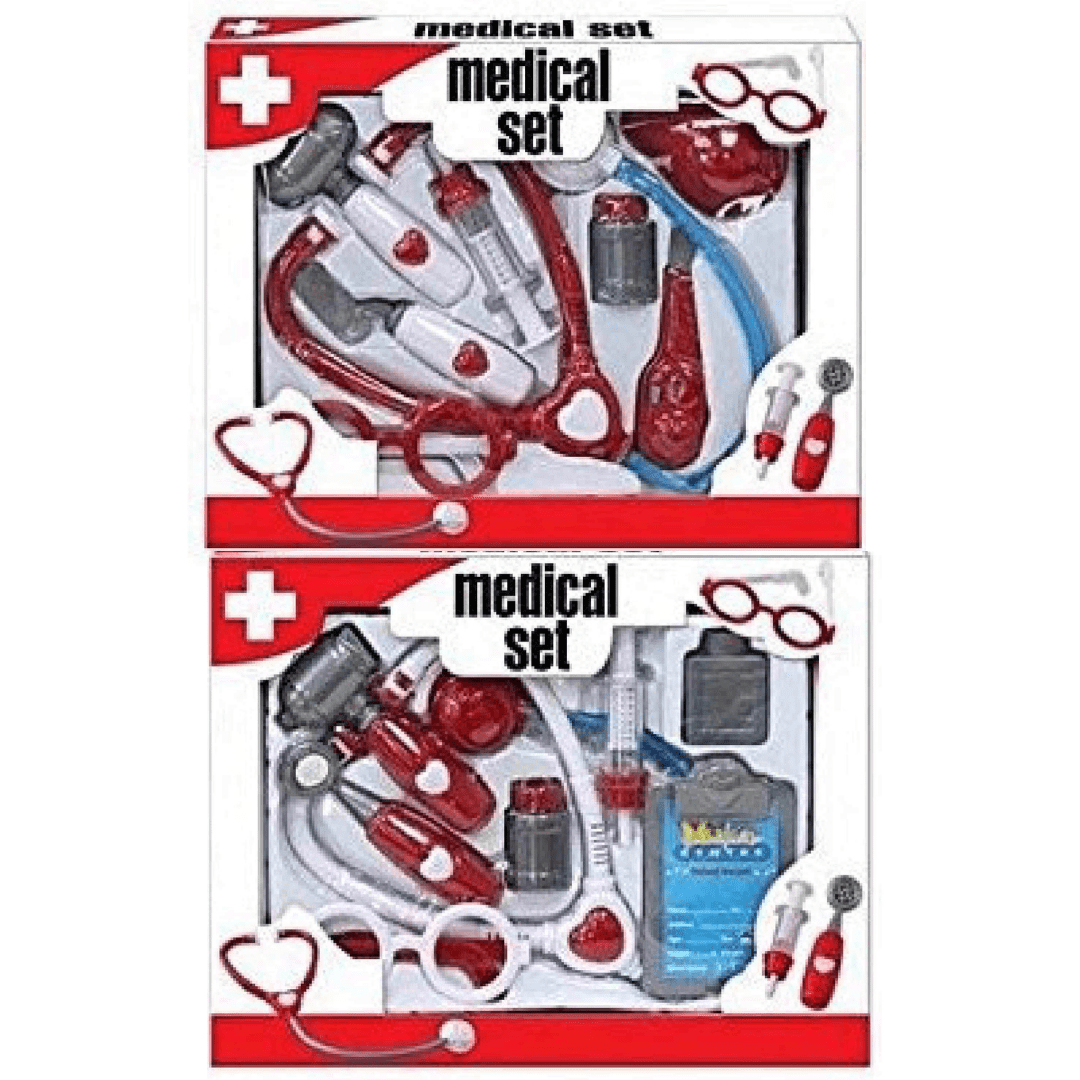 Medical Doctors Nurses Play Set - Assorted - only5pounds.com