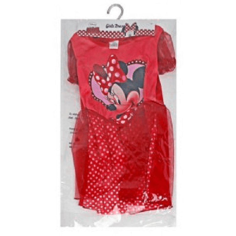 Disney Minnie Mouse Costume Dress Red - Ages 5/6 - only5pounds.com