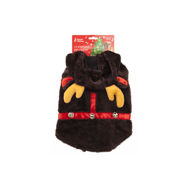 Dog Plush Reindeer Outfit - 30cm - only5pounds.com