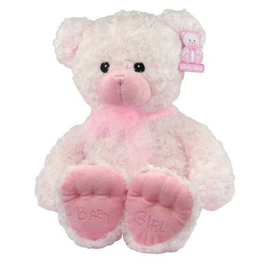 Pink Teddy Bear Baby Girl - 49cm - only5pounds.com
