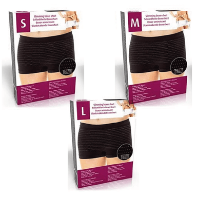 Slimming Boxer Shorts Black - Assorted
